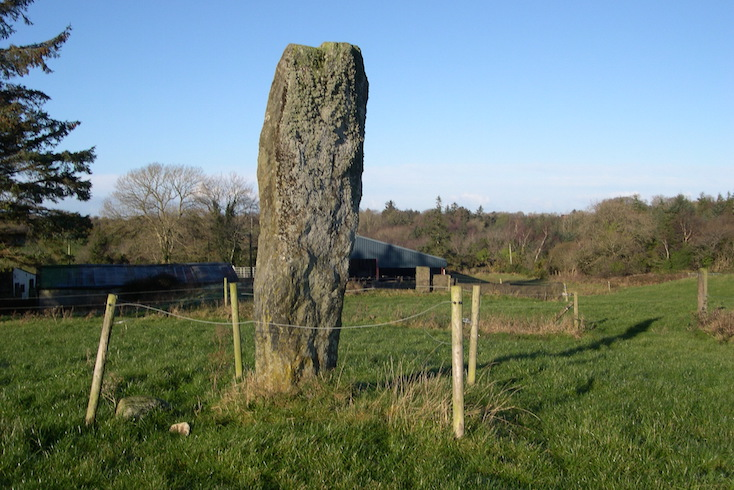 Currower Ogham Stone