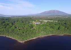 Mary Robinson - Ireland's first lady President, selling her piece of paradise in Mayo